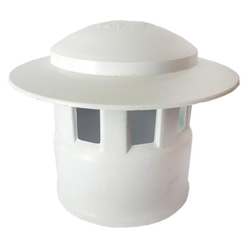 Καπέλα Αποχέτευσης FASOPLAST Λευκά PVC - U Φ50