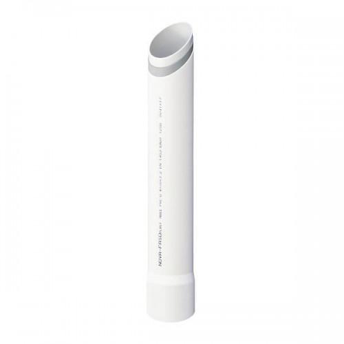 Σωλήνας Αποχέτευσης FASOPLAST Λευκός Τριών Στρωμάτων PVC - U ΝOVA-F Φ32 Πάχος τοιχώματος 3,0 mm