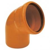 Γωνία Υπονόμων  από PVC-U Φ500 45°