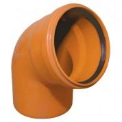 Γωνία Υπονόμων από PVC-U Φ110 67,5°