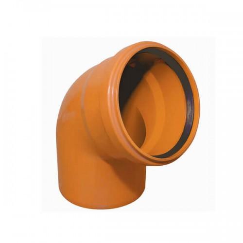 Γωνία Υπονόμων FASOPLAST από PVC-U Φ110 67,5°
