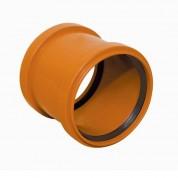 Μούφα Απλή (ΜΑΝΣΟΝ) Υπονόμων FASOPLAST από PVC-U Φ110