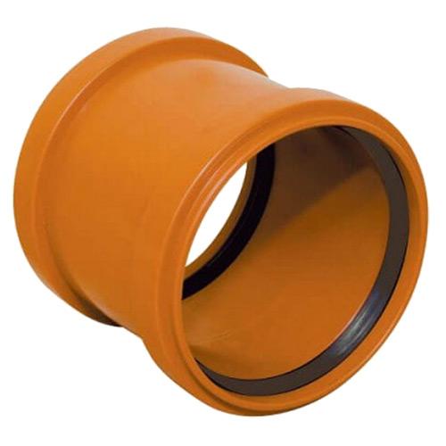 Μούφα Απλή (ΜΑΝΣΟΝ) Υπονόμων από PVC-U Φ110