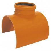 Σαμάρια Υπονόμων Φ500 x 110 87,5° με ελαστικό δακτύλιο  από PVC-U*