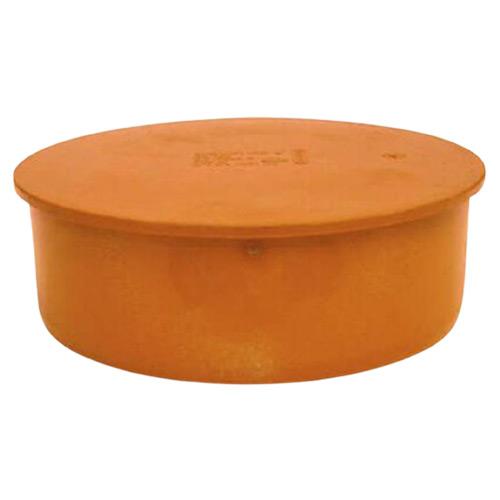 Τάπα Αρσενική Υπονόμων από PVC-U Φ110