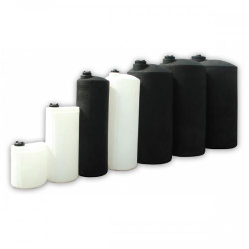 Πλαστική Δεξαμενή Πετρελαίου - Νερού Κυλινδρική Κατακόρυφη Ψηλή 100 Lt