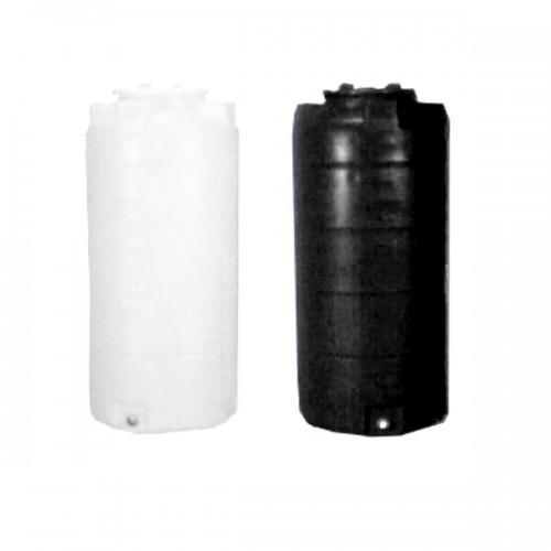 Πλαστική Δεξαμενή Πετρελαίου - Νερού Κάθετη Στενή 500 Lt