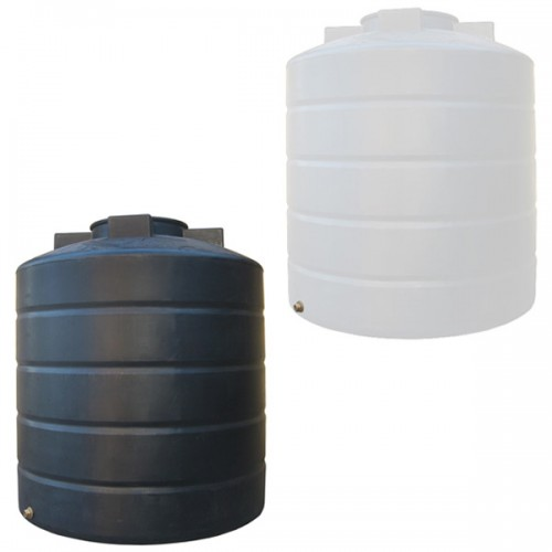 Πλαστική Δεξαμενή Πετρελαίου - Νερού Κυλινδρική Κατακόρυφη 1500 Lt