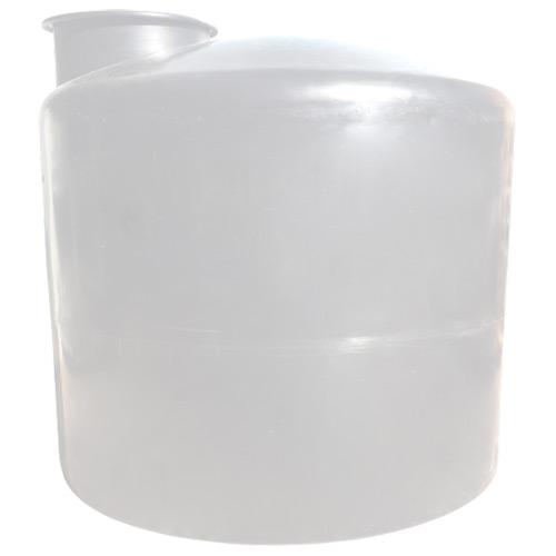 Πλαστική Δεξαμενή Πετρελαίου - Νερού Κυλινδρική Κατακόρυφη Λευκή 2000 Lt