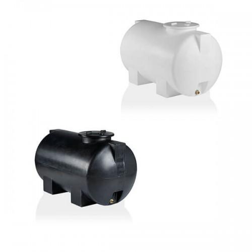 Πλαστική Δεξαμενή Πετρελαίου - Νερού Κυλινδρική Οριζόντια 300 Lt