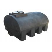 Πλαστική Δεξαμενή Πετρελαίου - Νερού Οριζόντια Ελλειψοειδής 5000 Lt