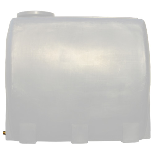 Πλαστική Δεξαμενή Πετρελαίου - Νερού Τετράγωνη Λευκή 1000 Lt
