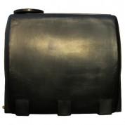 Πλαστική Δεξαμενή Πετρελαίου - Νερού Τετράγωνη Μαύρη 1000 Lt