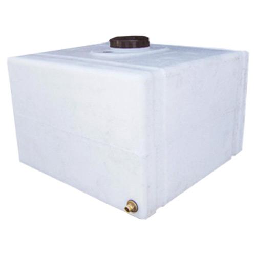 Πλαστική Δεξαμενή Πετρελαίου - Νερού Τετράγωνη Λευκή 150 Lt