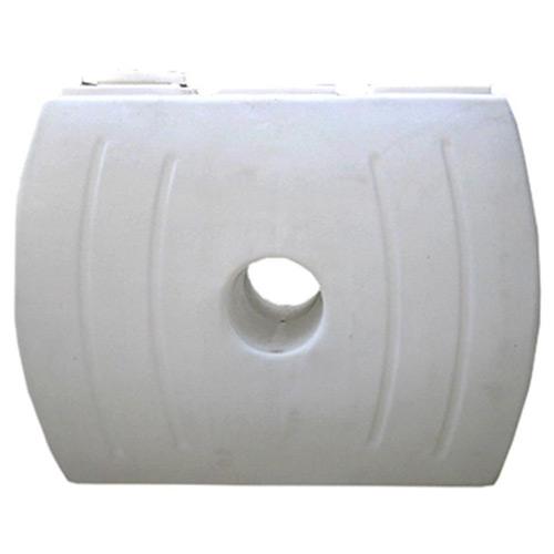 Πλαστική Δεξαμενή Πετρελαίου - Νερού Τετράγωνη Λευκή 1600 Lt