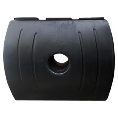 Πλαστική Δεξαμενή Πετρελαίου - Νερού Τετράγωνη Μαύρη 1600 Lt
