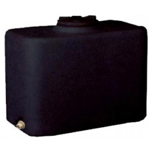 Πλαστική Δεξαμενή Πετρελαίου - Νερού Τετράγωνη Μαύρη 200 Lt