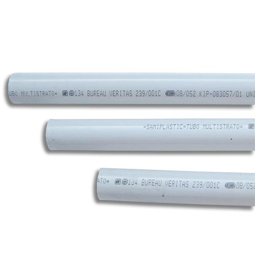 Πολυστρωματική Σωλήνα Ευθύγραμμη Sami Plastic Φ20 x 2 χωρίς Μόνωση