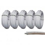 Πολυστρωματική Σωλήνα Sami Plastic Φ16 x 2 με Λευκή Μόνωση 6mm