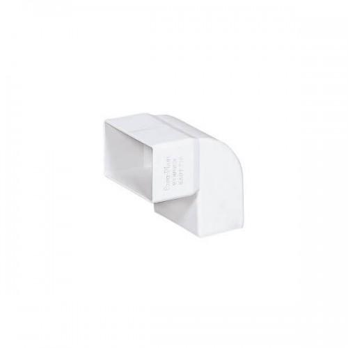 Γωνία FASOPLAST Κάθετη 90° Λευκή 6x10