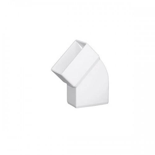 Γωνία Πλάγια FASOPLAST 45° Λευκή 6x10
