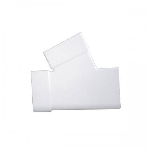 Hμιτάφ Πλάγιο FASOPLAST 6x10 x 6x10 Λευκό