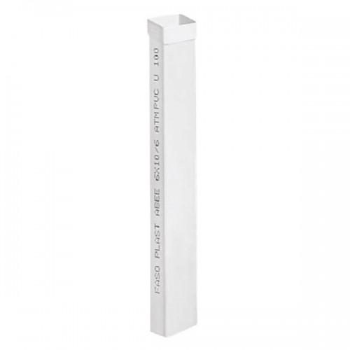 Σωλήνας Υδρορροής FASOPLAST Λευκός PVC – 6ΑΤΜ 6x10